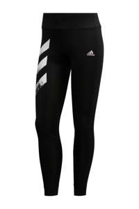adidas Performance Own The Run 7/8 hardloopbroek zwart/wit, Zwart/wit