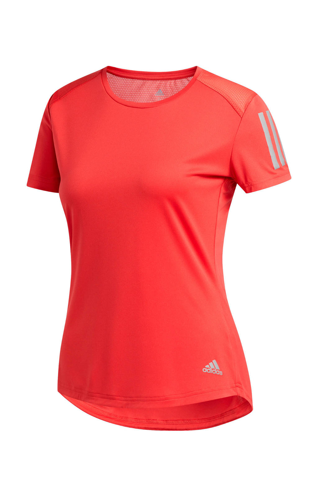 adidas Performance hardloopshirt rood, Rood, Dames