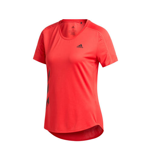 adidas Performance hardloopshirt rood