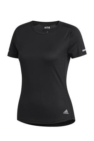 Run It hardloop T-shirt zwart