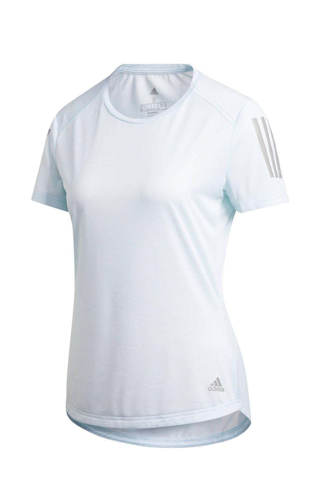 adidas Performance hardloopshirt lichtblauw, Lichtblauw, Dames