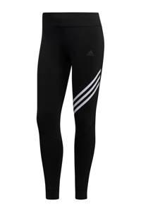 adidas Performance hardloopbroek zwart/wit, Zwart/wit