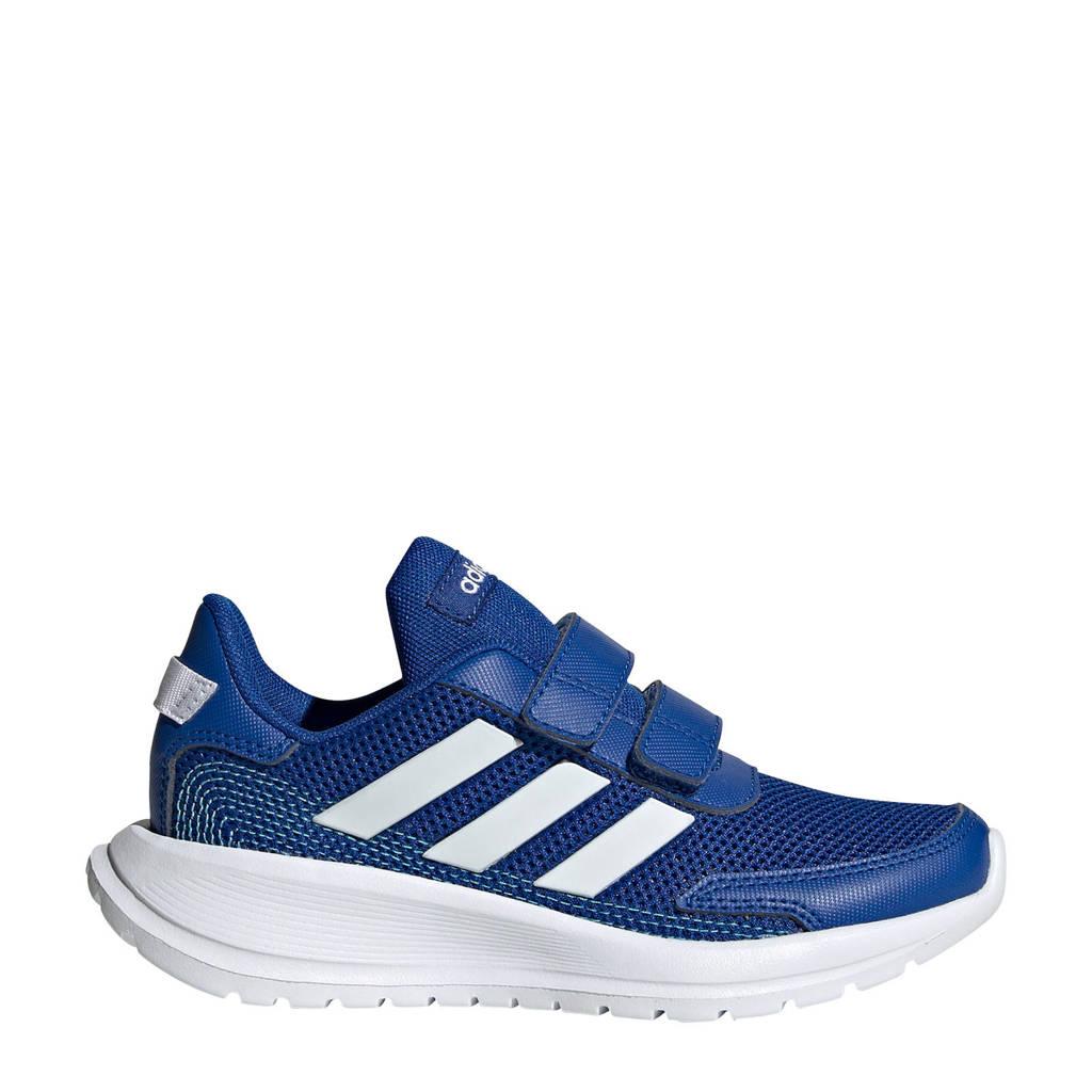 adidas Performance Tensaur Run C  sportschoenen donkerblauw/wit kids, Donkerblauw/wit