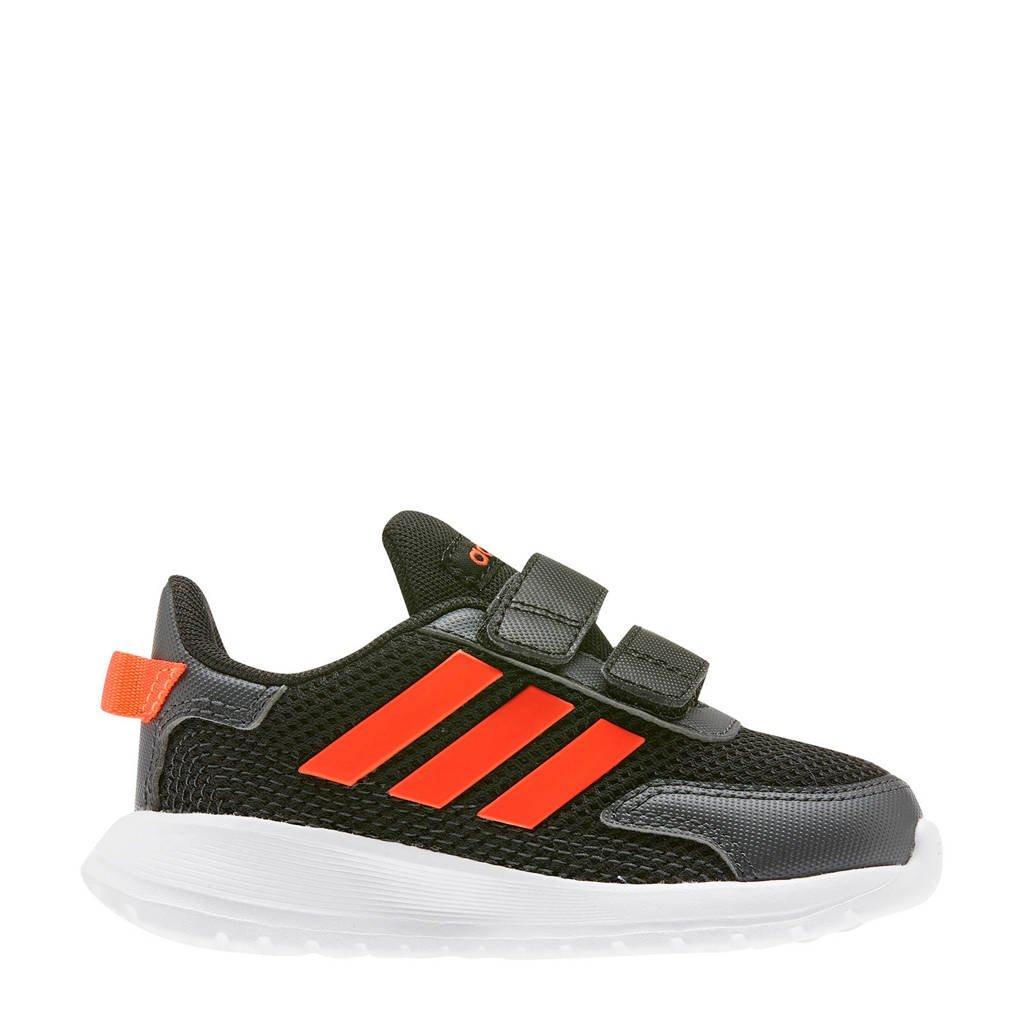 adidas performance Tensaur Run I hardloopschoenen zwart/rood kids, Zwart/rood, Jongens/meisjes