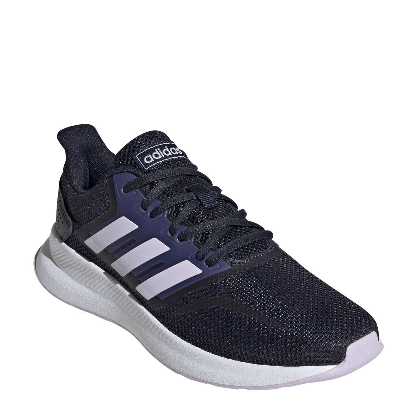 adidas Performance Runfalcon hardloopschoenen donkerblauw