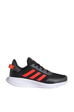Tensaur Run K hardloopschoenen zwart/rood kids