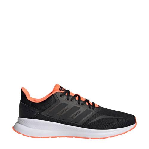 adidas performance Runfalcon Runfalcon hardloopschoenen zwart-koraal