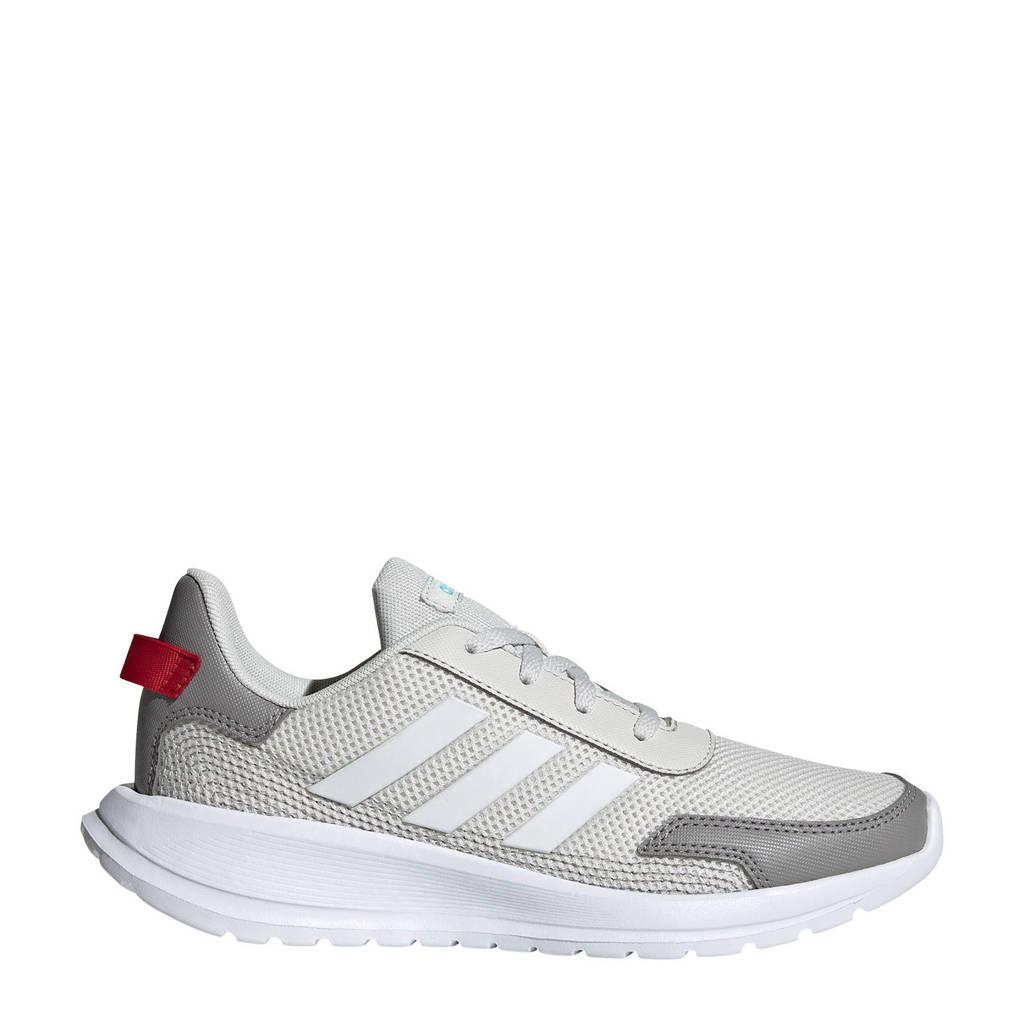adidas Performance Tensaur Run K hardloopschoenen grijs/wit kids, Lichtgrijs/grijs