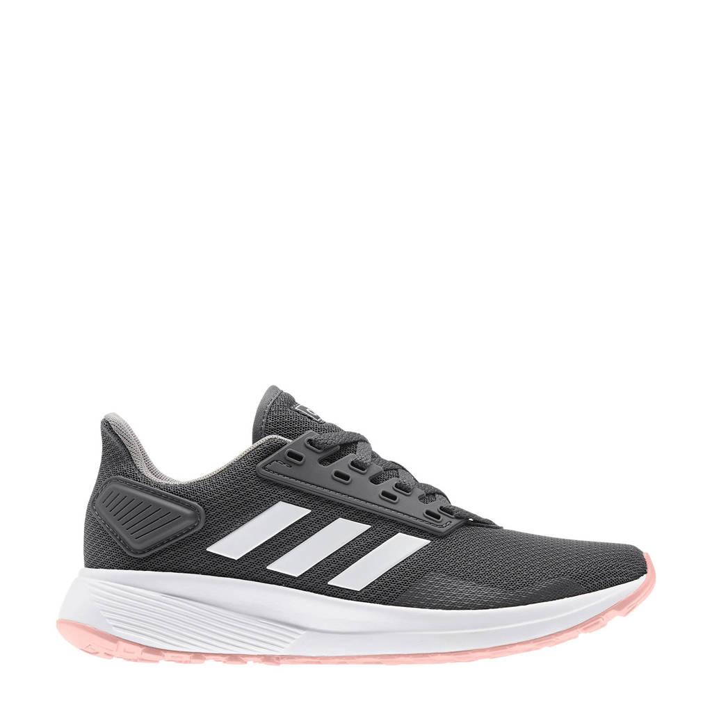 adidas Performance Duramo 9  hardloopschoenen grijs/wit, Grijs/wit/roze, Dames