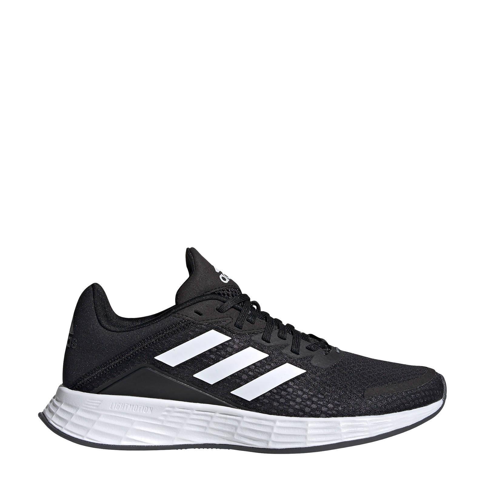 adidas Performance Duramo SL hardloopschoenen zwart/wit ...