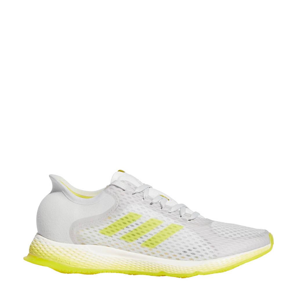 adidas Performance Focus Breathein  hardloopschoenen wit/geel, Wit/geel