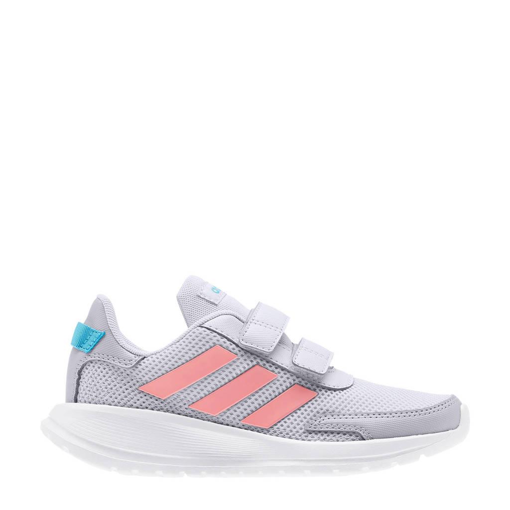 adidas Performance Tensaur Run C  sportschoenen grijs/roze kids, Grijs/roze