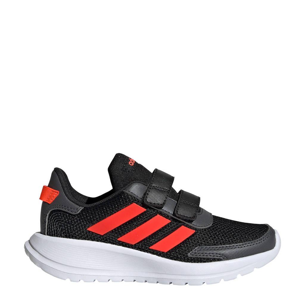 adidas Performance Tensaur Run C sportschoenen zwart/rood kids, Zwart/rood