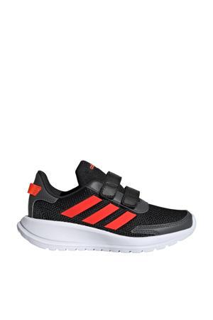 Tensaur Run C sportschoenen zwart/rood kids