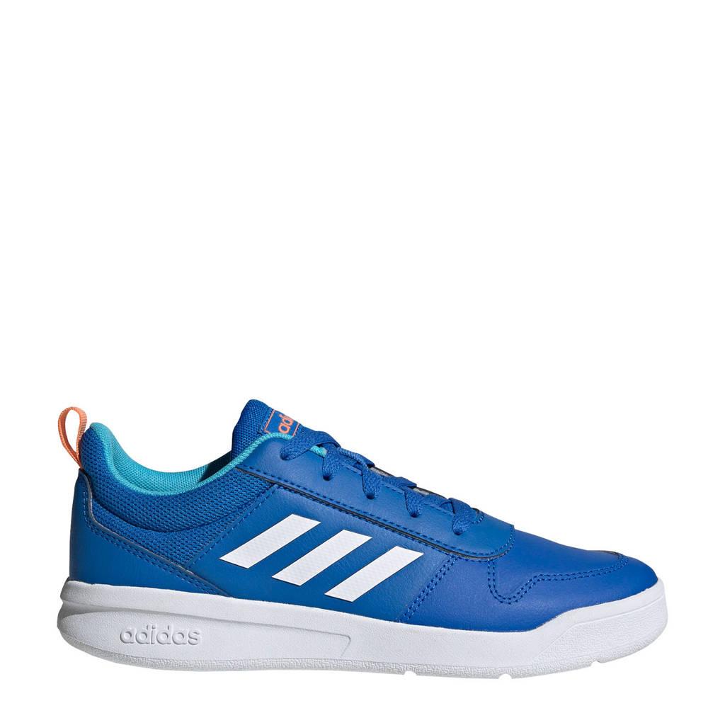adidas Performance Tensaur K sportschoenen kobaltblauw/wit kids, Kobaltblauw/wit