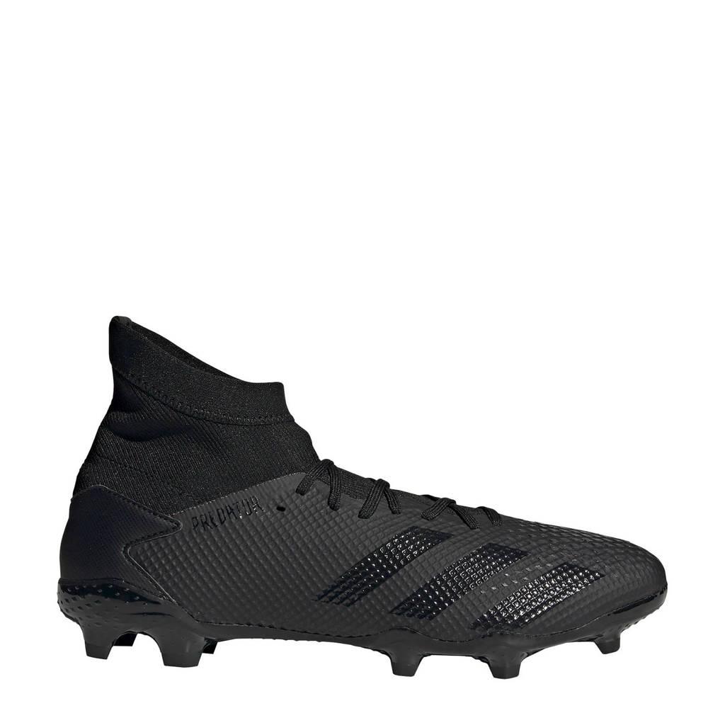 adidas Performance Predator 20.3 FG Sr. voetbalschoenen zwart, Zwart