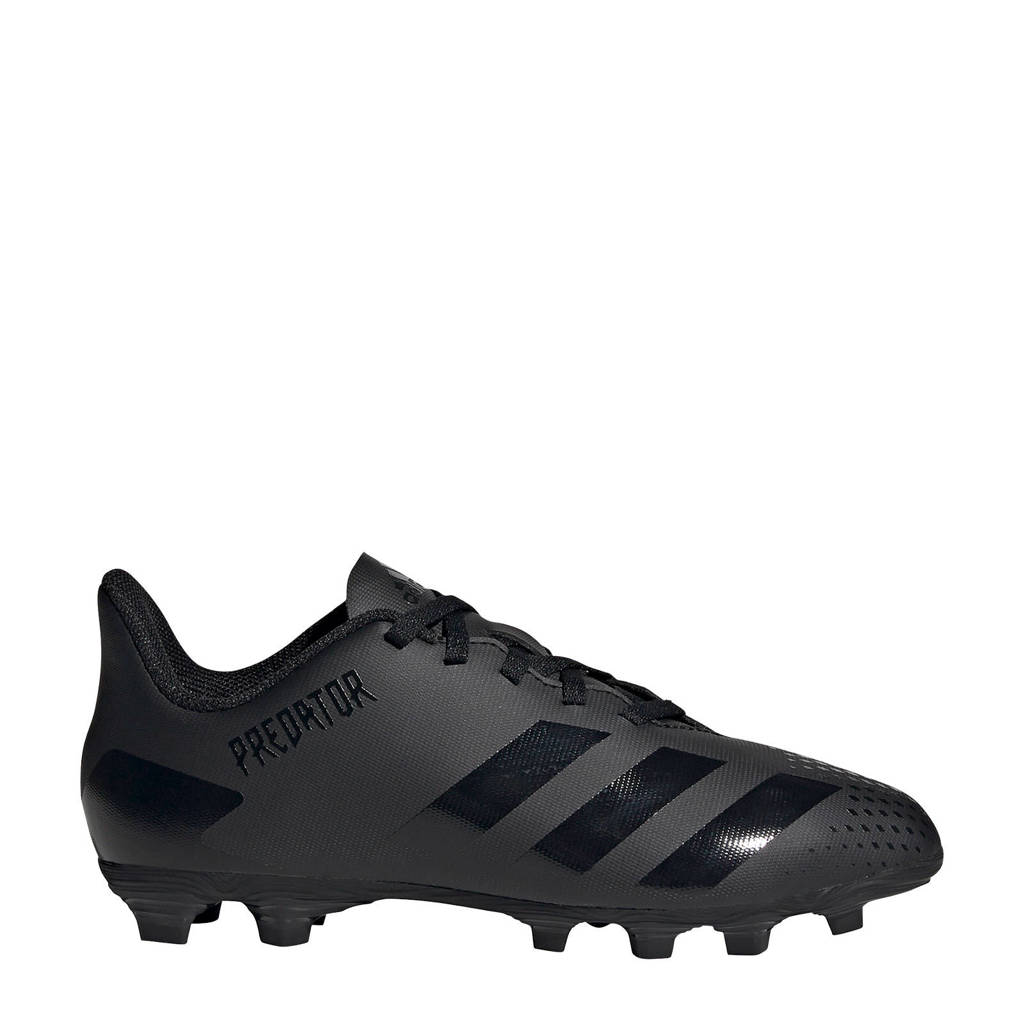 adidas Performance Predator 20.4 FxG voetbalschoenen zwart/grijs, Zwart/grijs