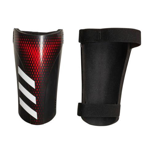 adidas performance Senior Predator Sg scheenbeschermers zwart-rood