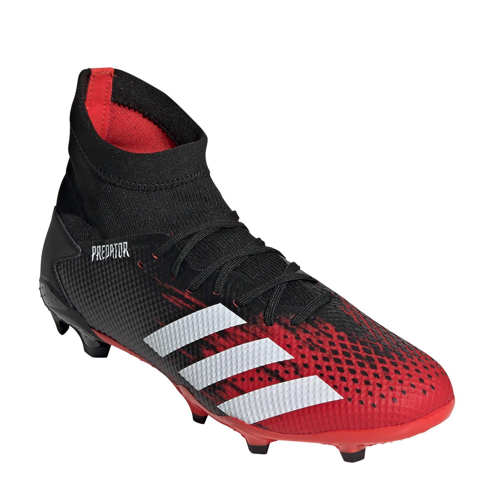 adidas Performance Predator 20.3 FG voetbalschoenen zwart