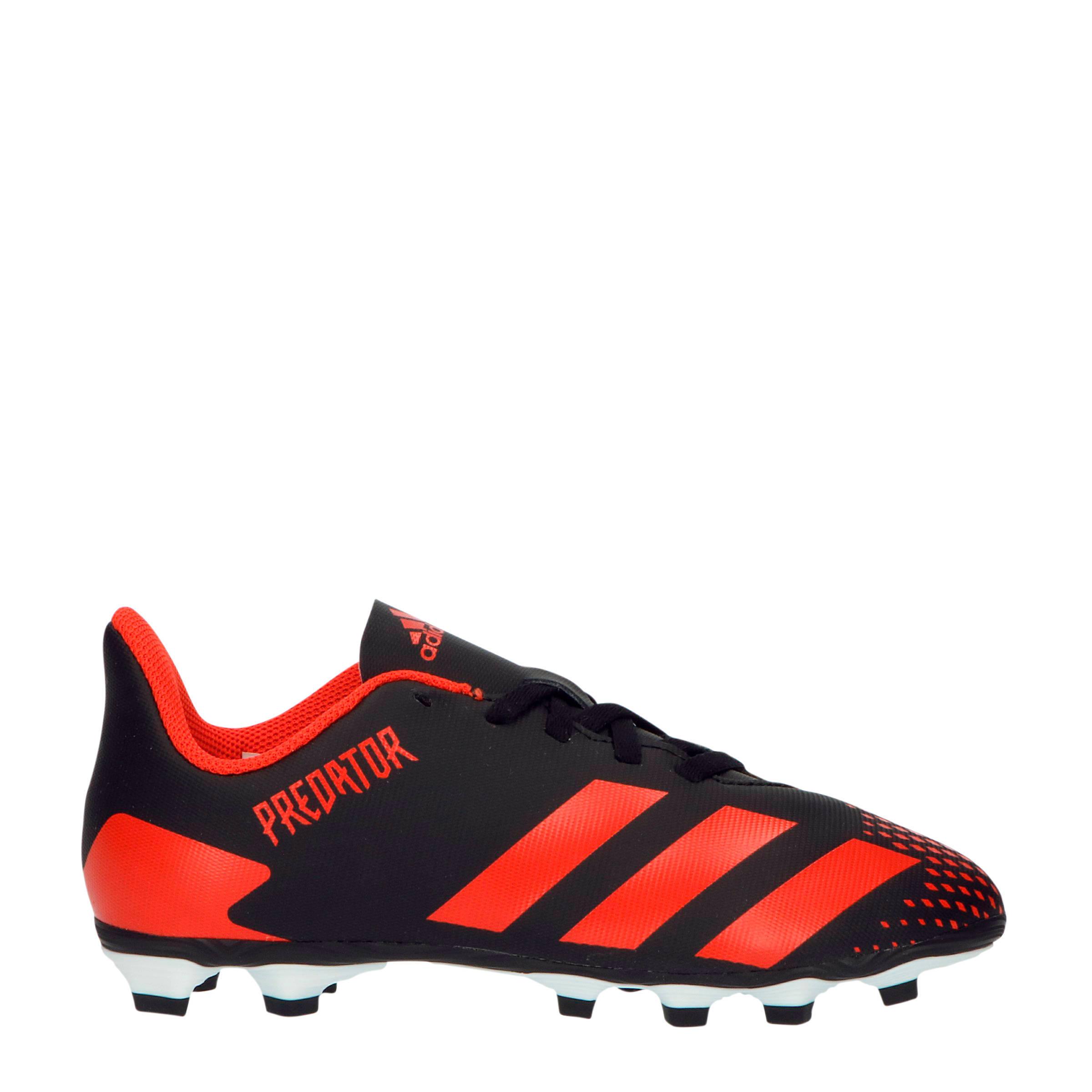 Predator 20.4 FxG voetbalschoenen zwartrood