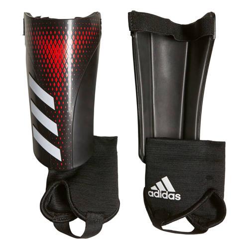 adidas performance Junior Predator Sg Mtc scheenbeschermers zwart-rood