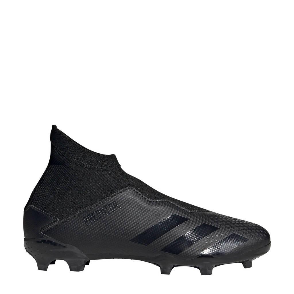 adidas Predator 20.3 LL FG Jr. voetbalschoenen zwart, Zwart/grijs