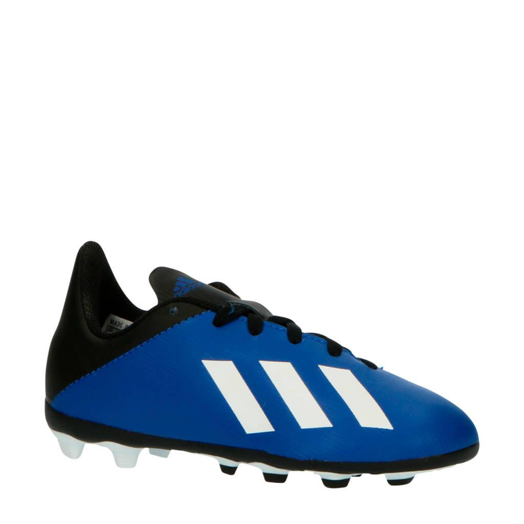 adidas Performance  X 19.4 voetbalschoenen kobaltblauw/zwart, Kobaltblauw/zwart