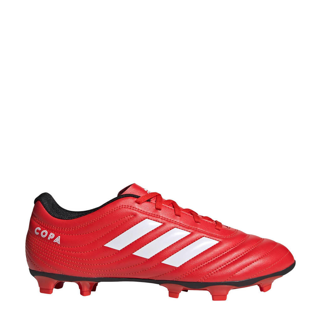 adidas Performance Copa 20.4 Firm Ground  voetbalschoenen rood, Rood/wit