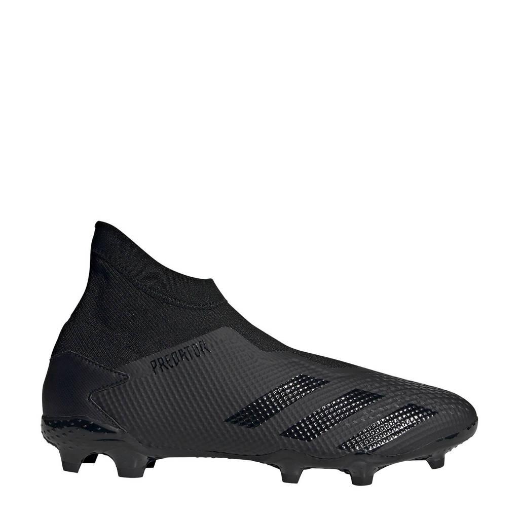 adidas Predator 20.3 LL FG voetbalschoenen zwart/grijs, Zwart/gijs