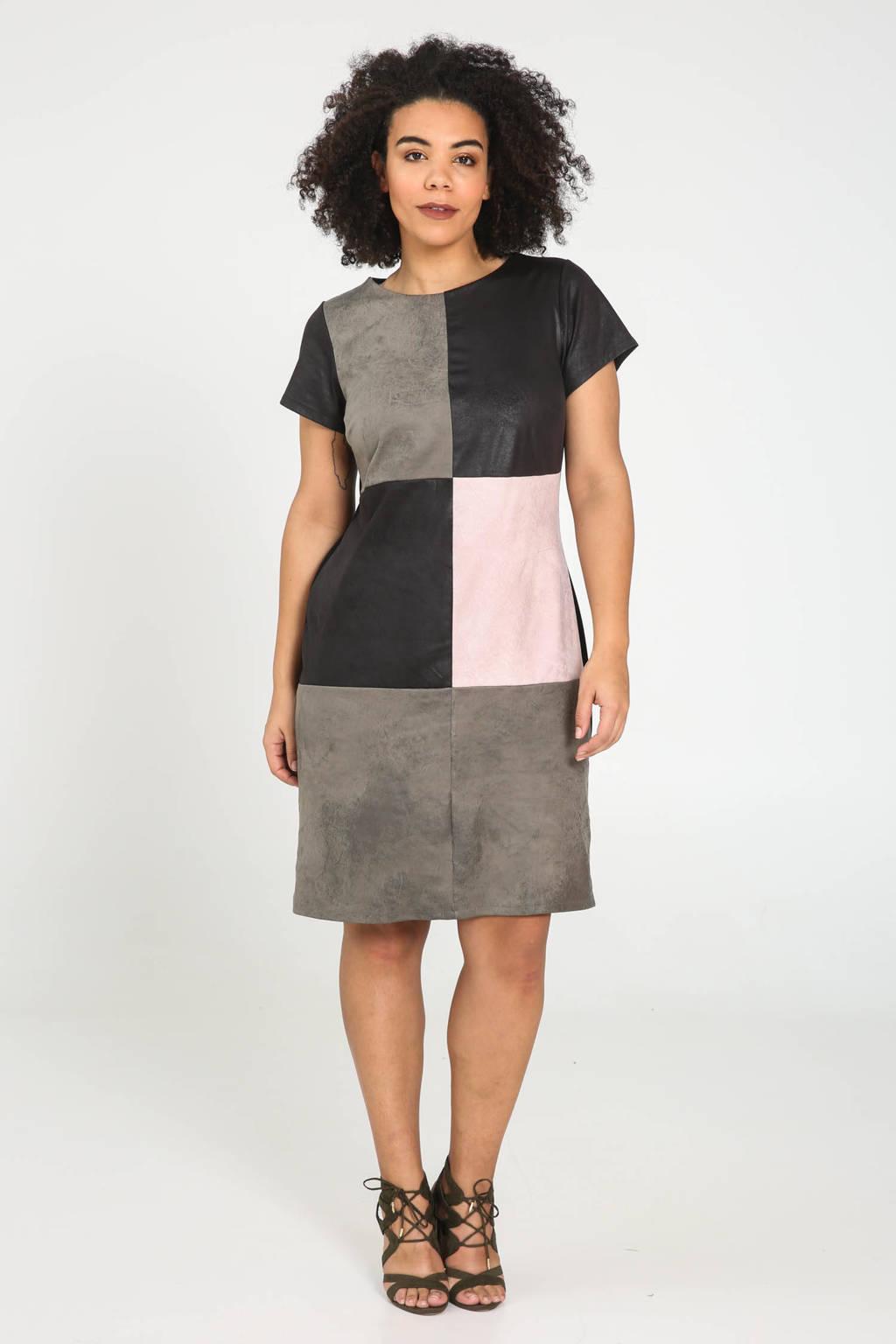 Paprika jurk grijs/multi, Grijs/multi