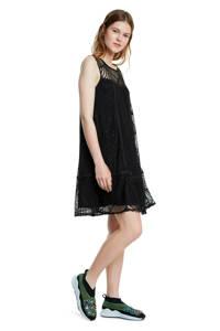 Desigual jurk en kant zwart, Zwart