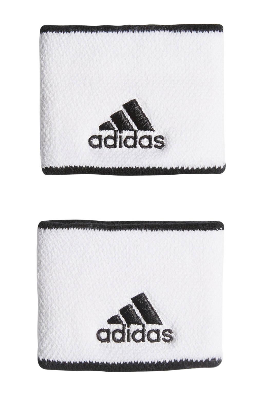 adidas Performance   polsbandjes Small wit, Wit