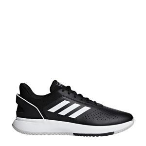 Courtsmash  tennisschoenen zwart/wit/grijs