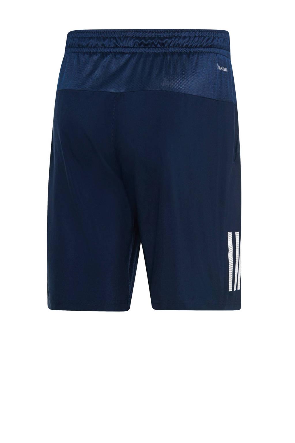 adidas   tennisshort donkerblauw, Donkerblauw