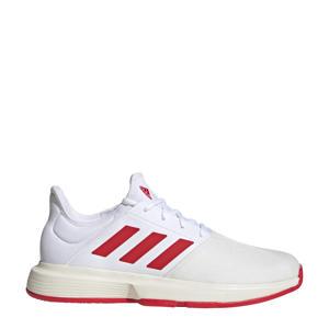 GameCourt M tennisschoenen wit/rood