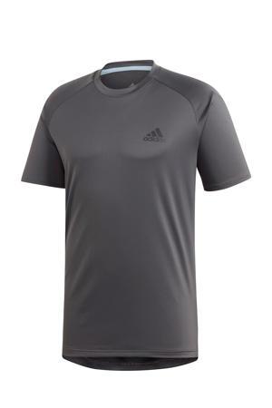 sport T-shirt antraciet
