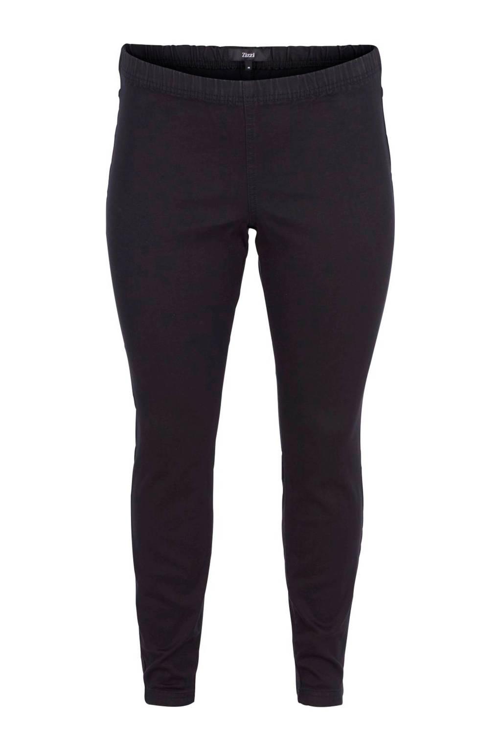 Zizzi legging zwart, Zwart