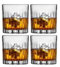 Jay Hill whiskyglazen Moville 32 cl 4 stuks, Transparant
