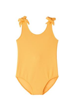 badpak met strikjes geel