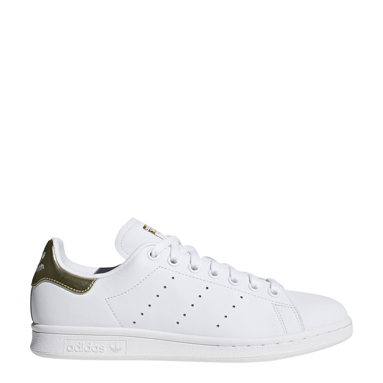adidas Originals Stan Smith sneakers wit/goud | wehkamp