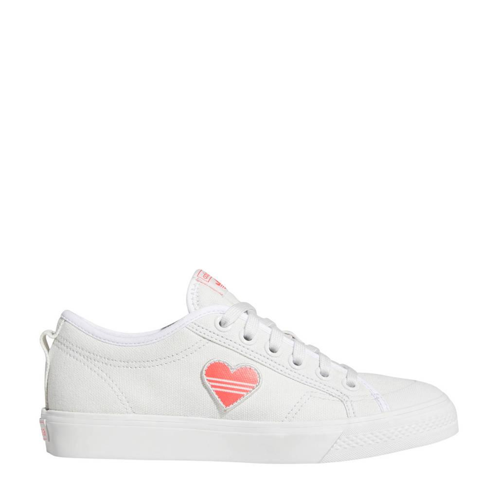 adidas Originals Nizza Trefoil W  sneakers wit, Wit