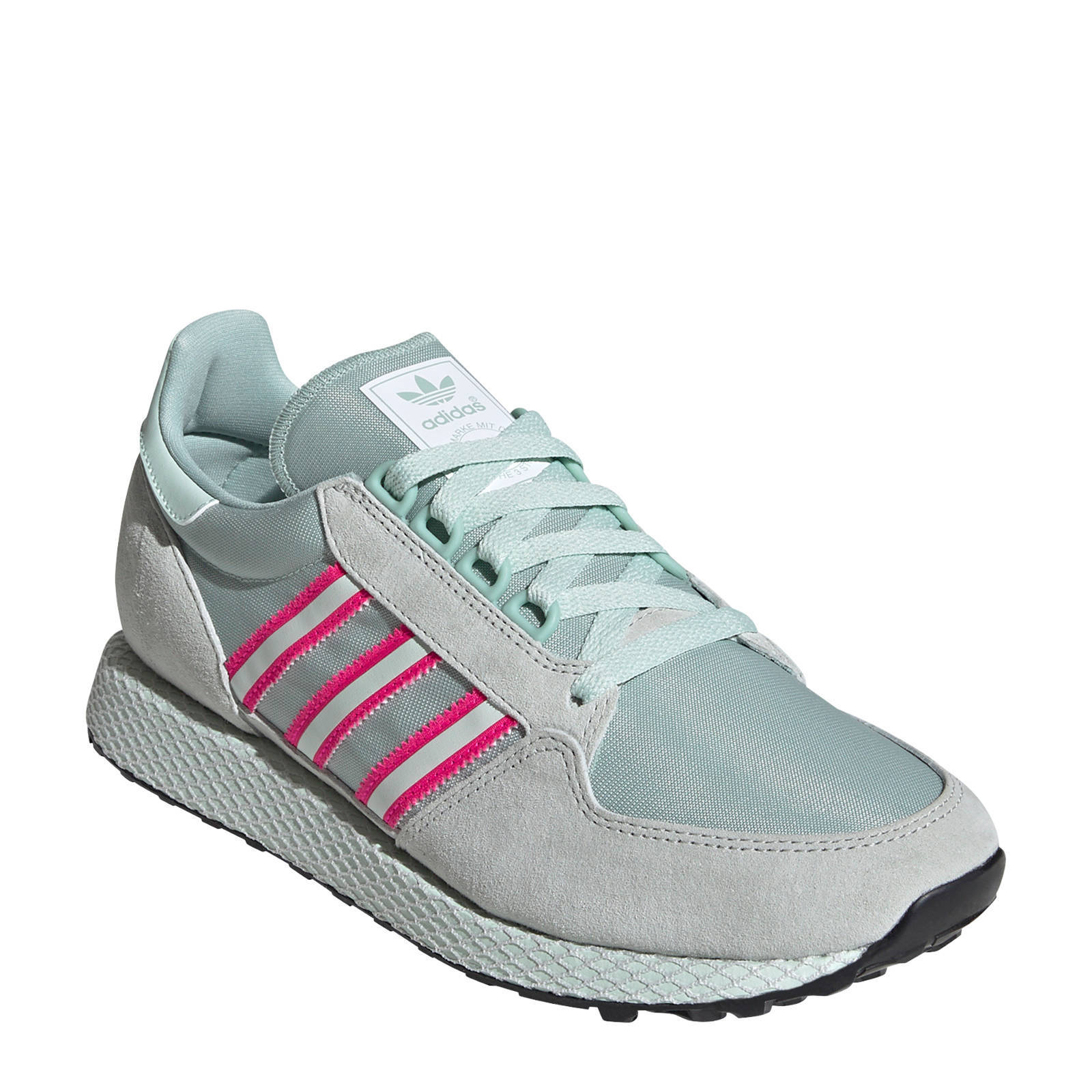 Forest Grove sneakers lichtgrijsmintgroenfuchsia