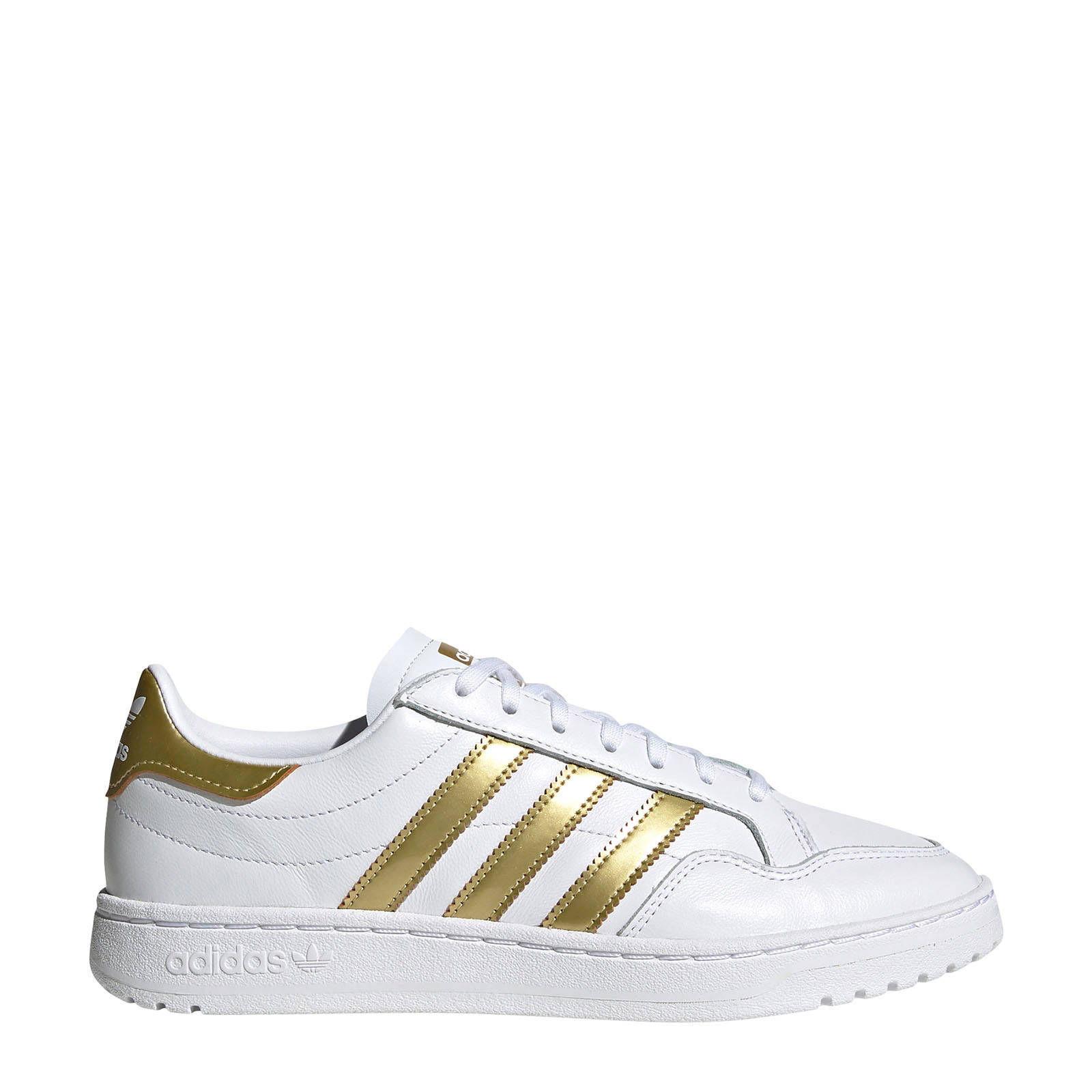 sneakers wit/goud