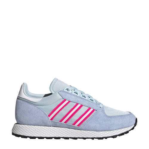 adidas Originals Forest Grove sneakers lila/zilver
