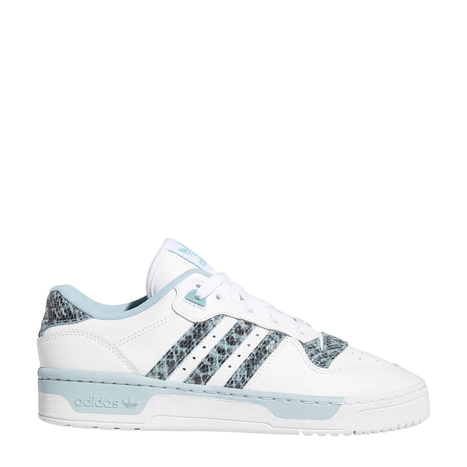 adidas Originals Rivalry Low sneakers wit/grijs | wehkamp