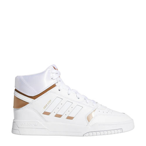 adidas originals Drop Step leren sneakers wit-koper metallic