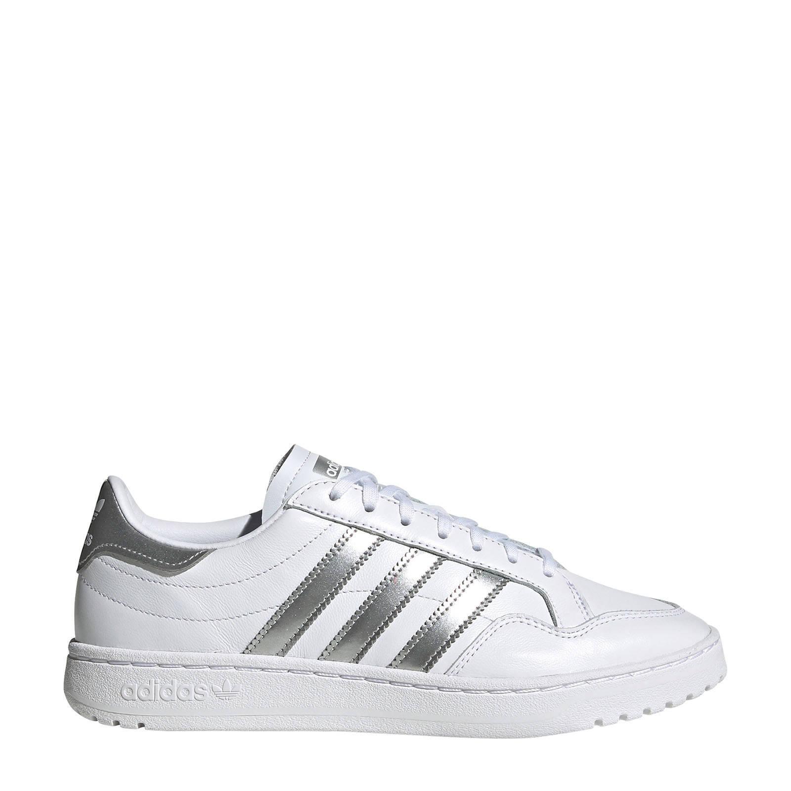 sneakers wit/zilver