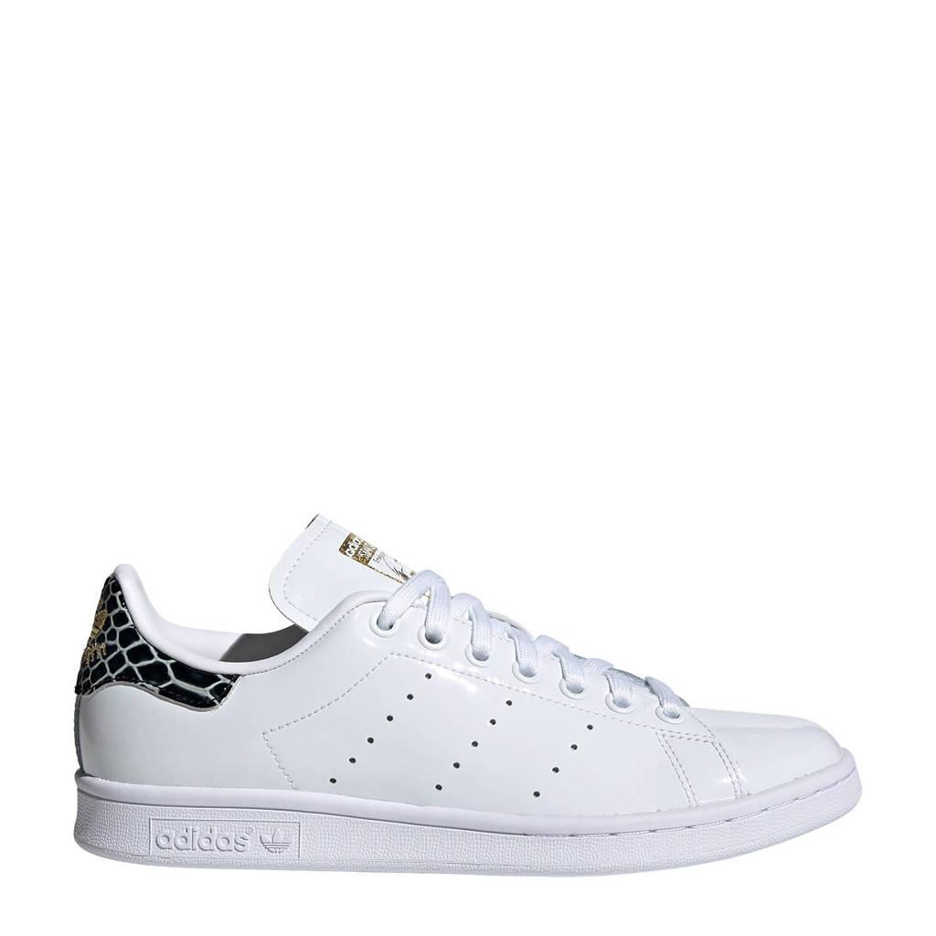 adidas Originals Stan Smith W  sneakers witzwart/goud, Wit/Zwart/Goud