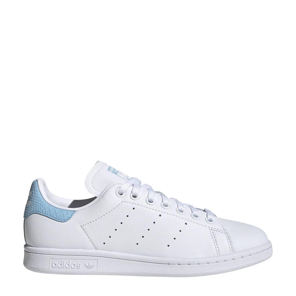 adidas Originals Stan Smith W  sneakers wit, Wit/lichtblauw