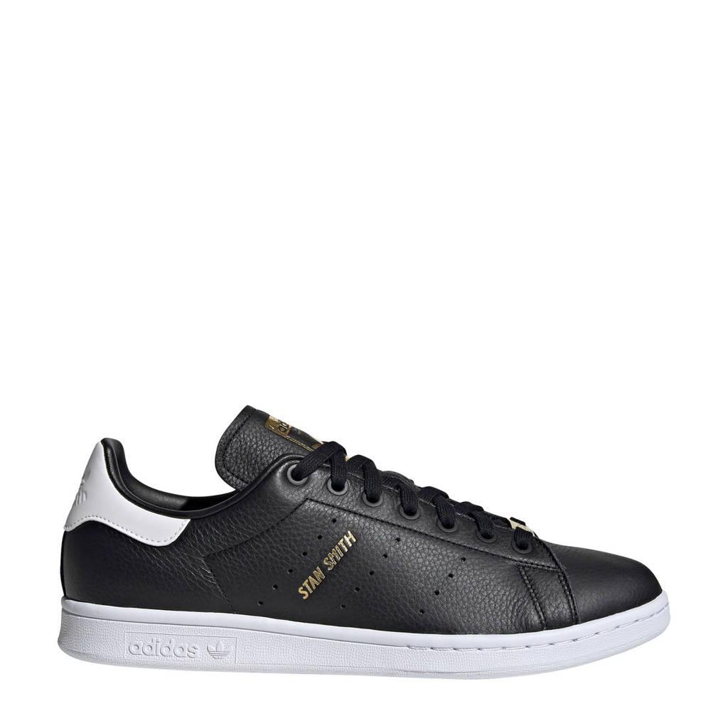 adidas Originals Stan Smith  leren sneakers zwart, Zwart/wit/wit